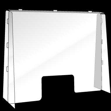 アクリル 受付・デスク型(大型サイズ)