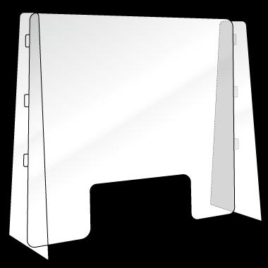 透明PET 受付・デスク型